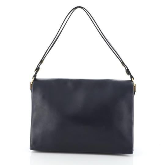 Céline Leather Shoulder Bag Image 2