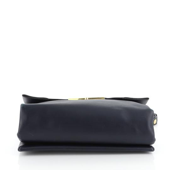 Céline Leather Shoulder Bag Image 3
