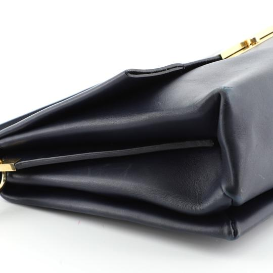 Céline Leather Shoulder Bag Image 5