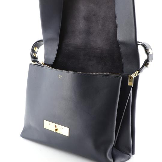 Céline Leather Shoulder Bag Image 6