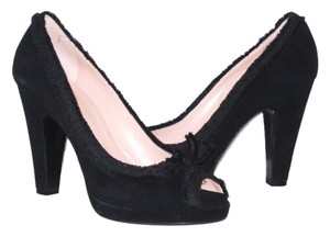 Marc by Marc Jacobs Suede Black Formal
