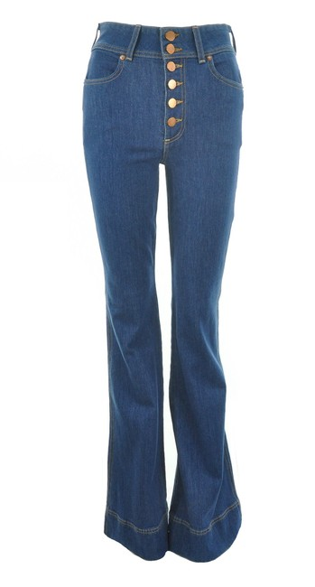 Item - Blue By Alice + Olivia Button Fly Bell Bottom Trouser/Wide Leg Jeans Size 26 (2, XS)