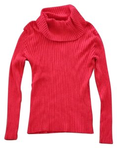 Apt. 9 Cowl Turtle Neck Ribbed Longsleeve Fitted Sweater