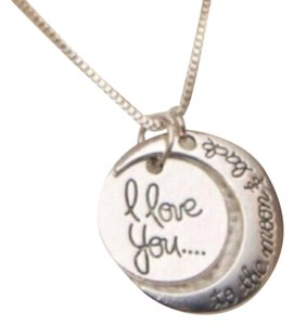 Brandy Melville I Love You To The Moon And Back Necklace