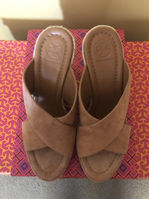 Tory Burch New Cuoio 219/ Light Brown 57804 Mules/Slides Size US 7 Regular (M, B) Tory Burch New Cuoio 219/ Light Brown 57804 Mules/Slides Size US 7 Regular (M, B) Image 4