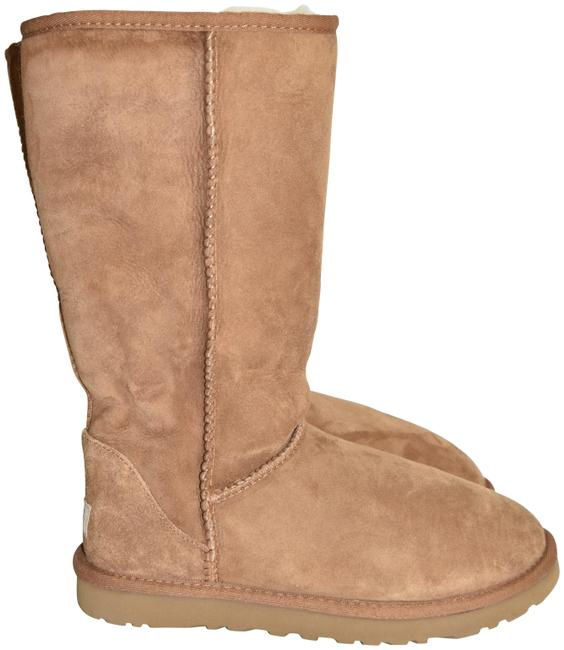 Item - Chestnut Classic Ii Genuine Shearling Lined Tall Cozy (M33) Boots/Booties Size US 7 Regular (M, B)