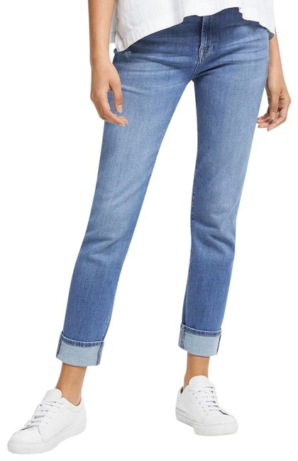Item - Blue Light Wash Relaxed Skinny Sty:20806901 Straight Leg Jeans Size 0 (XS, 25)
