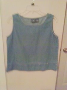 Blouses Casual Jeans Top Blue