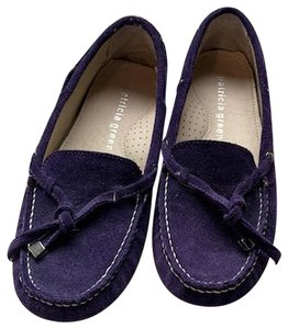 Patricia Green Loafers Suede purple Flats