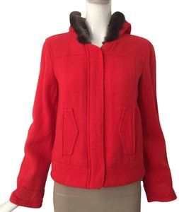 Marc Jacobs coral red Jacket