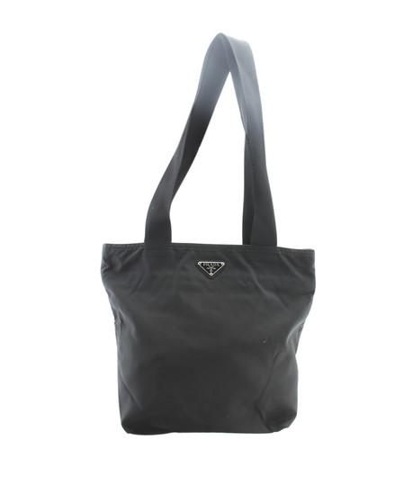 Prada Nylon Tote in Black Image 0