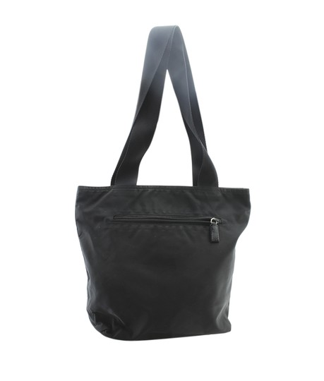 Prada Nylon Tote in Black Image 4