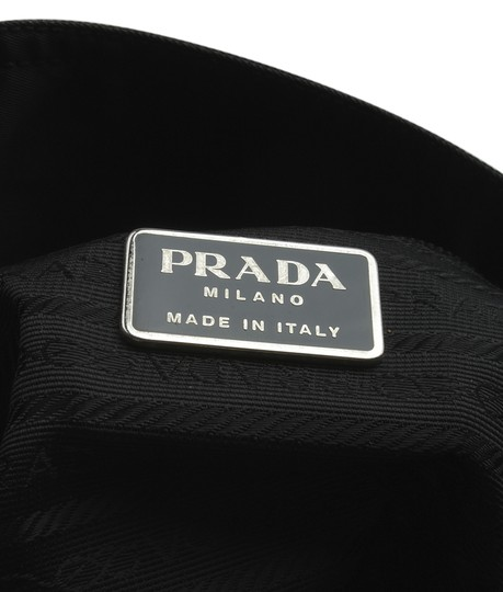 Prada Nylon Tote in Black Image 9