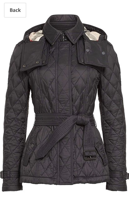 Burberry Black Jacket Image 3