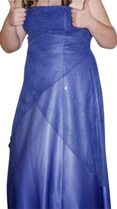 Jump Apparel Strap Strapless Glitter Sparkle Dress