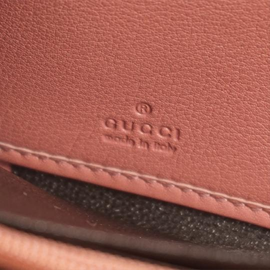 Gucci Gucci Guccissima 233025 Women's Leather Long Wallet (bi-fold) Pink Image 4