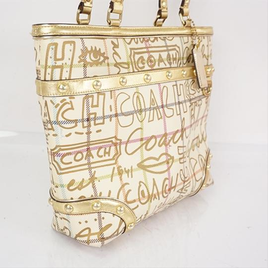 Coach Tote in Ivory Image 1