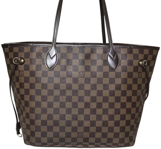 Preload https://img-static.tradesy.com/item/26346379/louis-vuitton-neverfull-mm-damier-ebene-brown-coated-canvas-tote-0-2-540-540.jpg