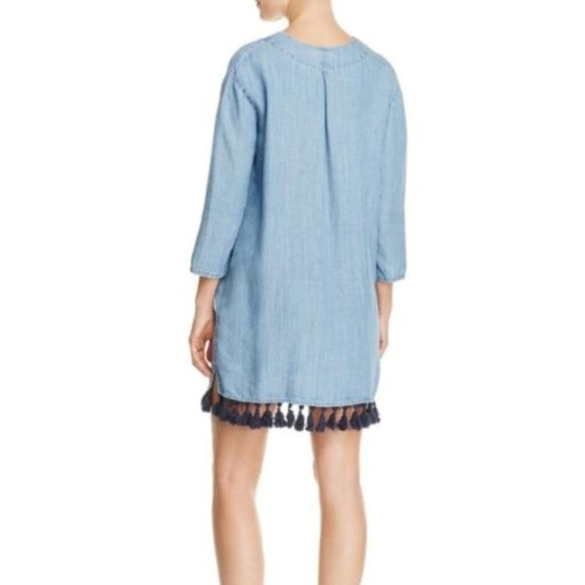 Rails Blue Alicia Chambray Short Casual Dress Size 4 (S) Rails Blue Alicia Chambray Short Casual Dress Size 4 (S) Image 2