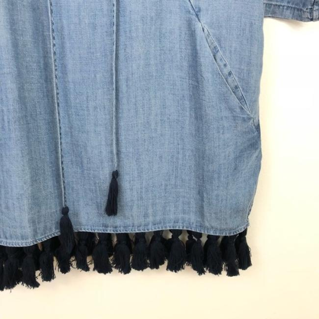 Rails Blue Alicia Chambray Short Casual Dress Size 4 (S) Rails Blue Alicia Chambray Short Casual Dress Size 4 (S) Image 6