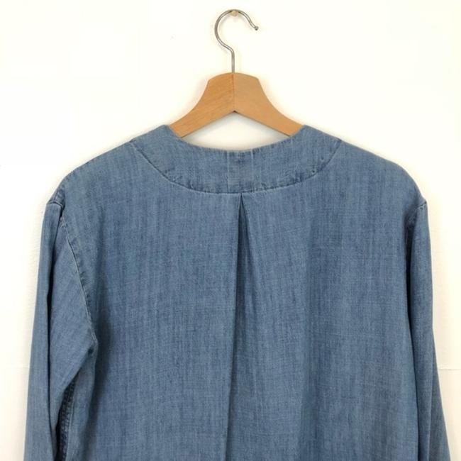 Rails Blue Alicia Chambray Short Casual Dress Size 4 (S) Rails Blue Alicia Chambray Short Casual Dress Size 4 (S) Image 7