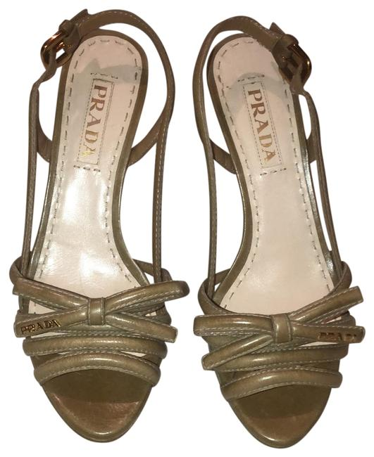 Item - Nude Platforms Size EU 36.5 (Approx. US 6.5) Regular (M, B)