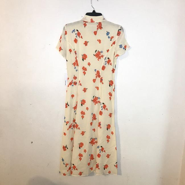 cream, red Maxi Dress by Reformation Image 4