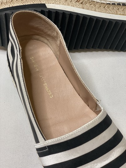 Diane von Furstenberg Black and White Platforms Image 3