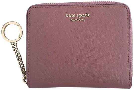 Preload https://img-static.tradesy.com/item/26346479/kate-spade-dusty-peony-continental-cameron-wallet-0-2-540-540.jpg