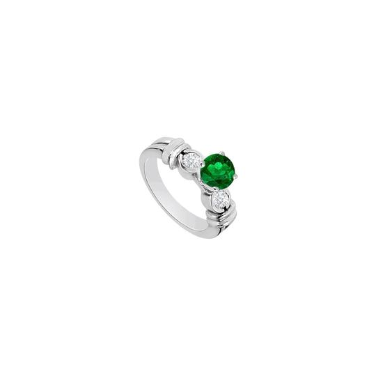 Preload https://img-static.tradesy.com/item/26346487/green-14k-white-gold-engagement-with-frosted-emerald-and-cubic-zirconia-ring-0-0-540-540.jpg
