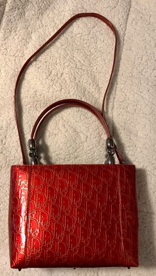 Dior Satchel in Red Image 1