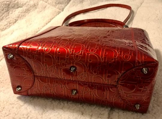 Dior Satchel in Red Image 2