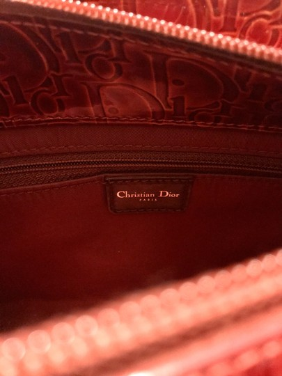 Dior Satchel in Red Image 7
