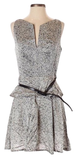 Preload https://img-static.tradesy.com/item/26346576/robert-rodriguez-silver-gray-print-black-belt-short-night-out-dress-size-2-xs-0-2-650-650.jpg