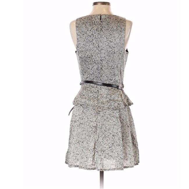 Robert Rodriguez Peplum Belted Cocktail Party Special Occassion Dress Image 1