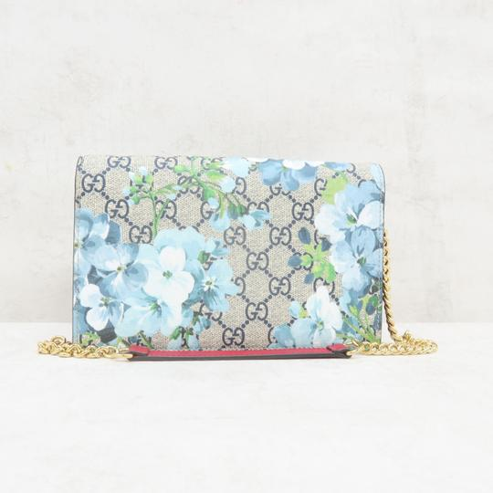 GUCCI Bloom Canvas Wallet On Chain Shoulder Bag Image 1