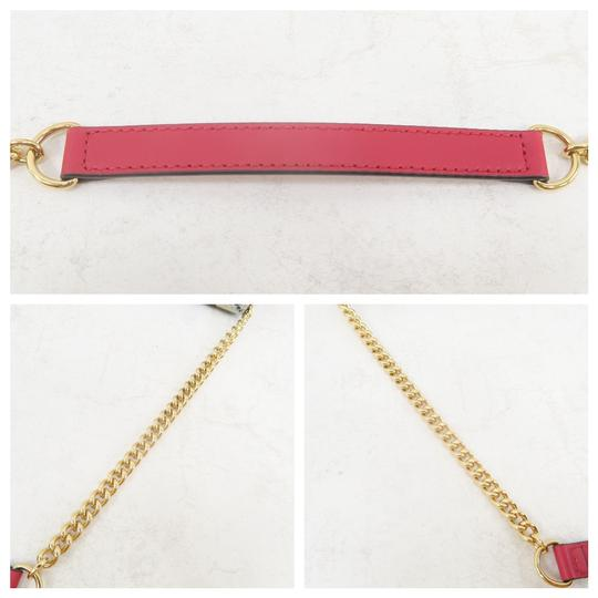 GUCCI Bloom Canvas Wallet On Chain Shoulder Bag Image 6
