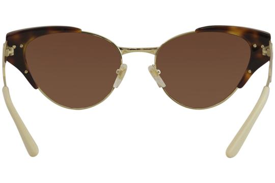 Gucci Gucci Women's Web GG0522S GG/0522/S 002 Havana/Gold Sunglasses 55mm Image 3
