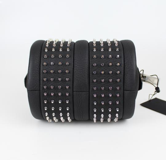 Alexander Wang Date Night Night Out Party Hollywood Studded Satchel in Black Image 7