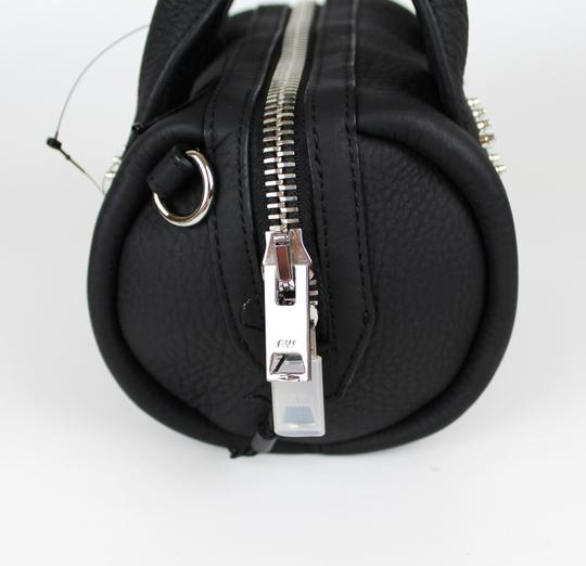Alexander Wang Date Night Night Out Party Hollywood Studded Satchel in Black Image 9