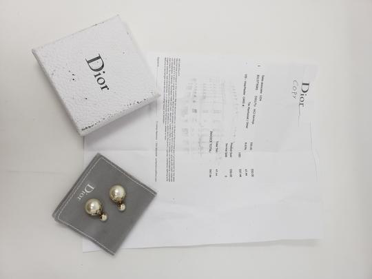 Christian Dior Faux pearl Christian Dior Tribales earrings Image 1