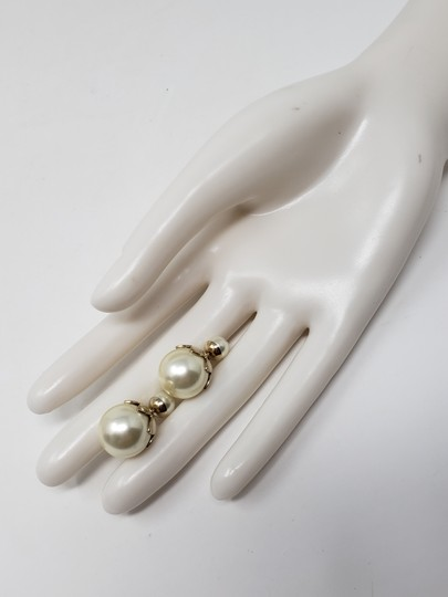 Christian Dior Faux pearl Christian Dior Tribales earrings Image 2