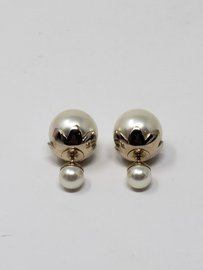 Christian Dior Faux pearl Christian Dior Tribales earrings Image 5