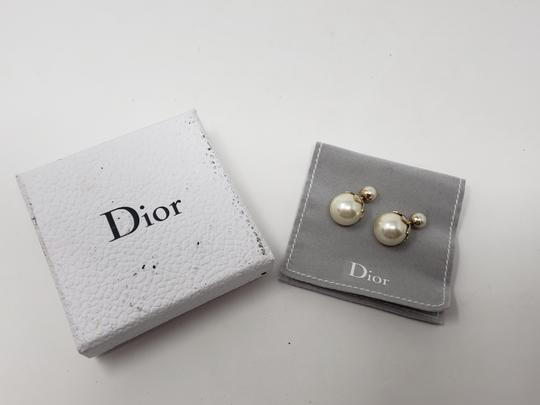 Christian Dior Faux pearl Christian Dior Tribales earrings Image 8