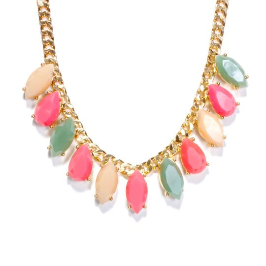 Kate Spade rainbow stone statement necklace Image 1