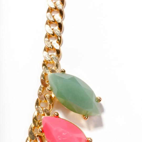 Kate Spade rainbow stone statement necklace Image 2