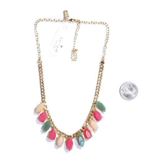 Kate Spade rainbow stone statement necklace Image 5