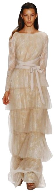 Item - Nude Willow Long Formal Dress Size 8 (M)