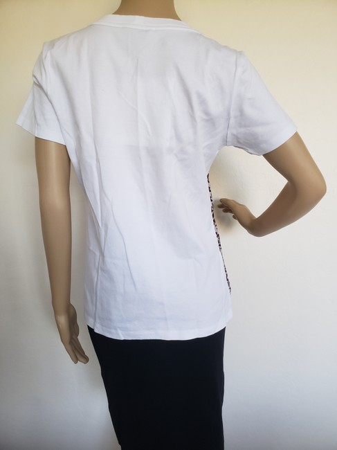 Louis Vuitton Lv Monogram Embroidered Sheer Confidential T Shirt White Image 4