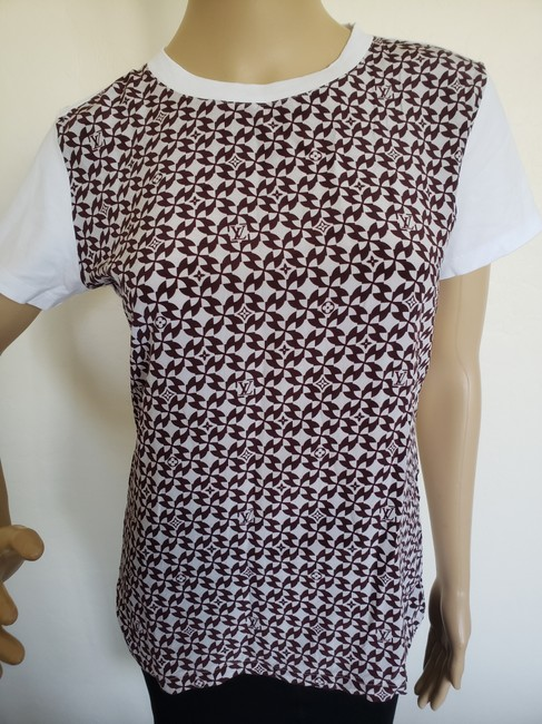 Louis Vuitton Lv Monogram Embroidered Sheer Confidential T Shirt White Image 6